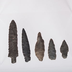 Eskimo Bering Sea Culture Stone Points