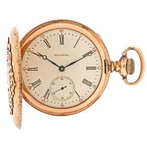 Waltham 14 Karat Hunter Case Pocket Watch