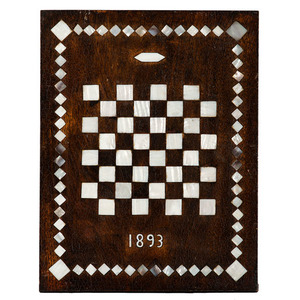 Painted Slate Game Board, Plus
