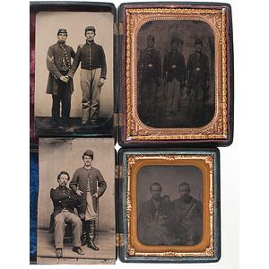 Civil War Tintypes of Union Pards