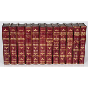 Thackeray's Works, in 12 Volumes, 1879