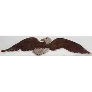 Folk Art Carved Eagle