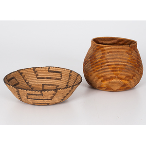 Central California and Pima Baskets