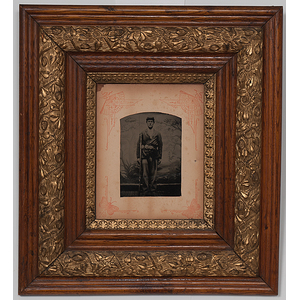 Civil War Whole Plate Tintypes of Union Soldiers
