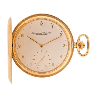 International Watch Company 18 Karat Hunter case Pocket Watch