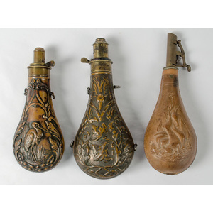 Three Powder Flasks