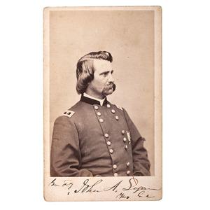 General John Logan Signed CDV