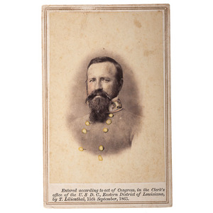 CSA General Franklin Gardner CDV