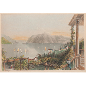 Hand-Colored Engravings by Henry Adlard, After William Henry Bartlett