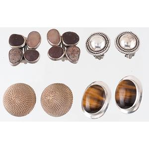 Earrings in Sterling Silver PLUS