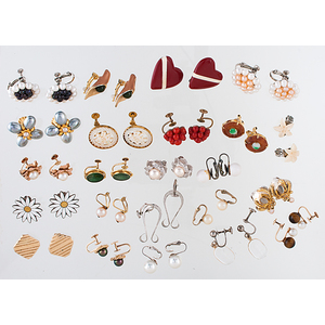 Earring Assortment in Silver and Gold PLUS