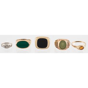 Rings in Karat Gold