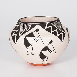 Lucy Lewis (Acoma, 1898-1992) Pottery Bowl