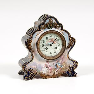 Samuel Marti French Porcelain Clock