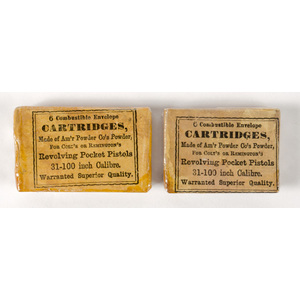 Lot of Two Combustible Skin Packets by H.W. Mason