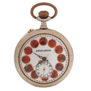 Regulateur Oversized Pocket Watch
