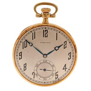 Tiffany & Co. 18 Karat Pocket Watch