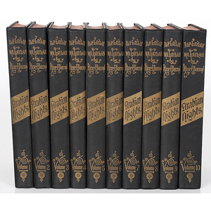 Sir Richard Burton, Life and Works, 21 Vols.