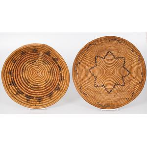 Navajo Polychrome Baskets