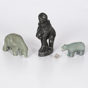 Inuit Soapstone Figures