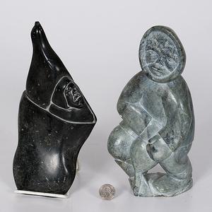 Inuit Soapstone Sculptures