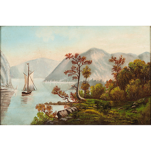 Naive Hudson River School (American, 19th century)