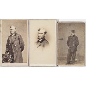 Three CDV's of General Judson Kilpatrick,