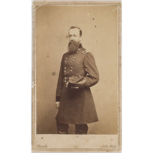 CDV of Brigadier General Joseph K. Knipe,