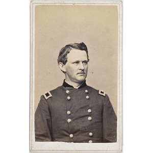 Autographed CDV of Major General Wesley Merritt,