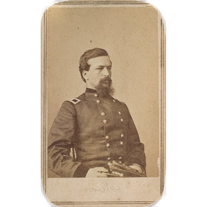 CDV of Brevet Major General Alexander S. Webb, CMOH,
