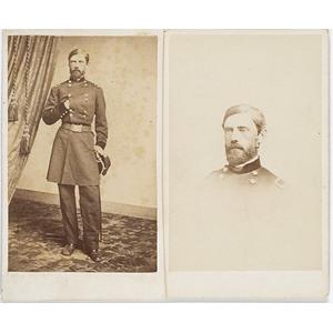 Two CDV's of Major General John Reynolds,