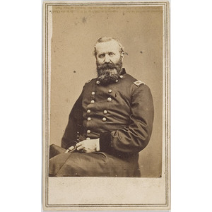 CDV of Brevet Major General Alexander Hays,