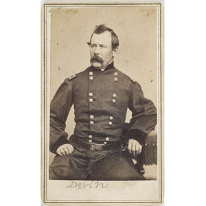 CDV of Brigadier General Thomas C. Devin,