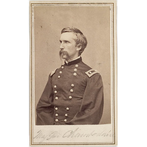 CDV of Major General Joshua Chamberlain,