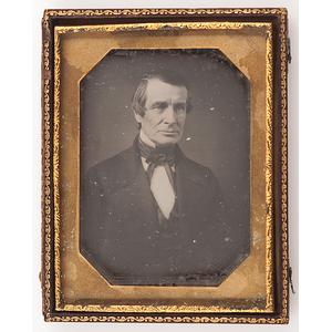 War of 1812 Colonel Charles Coit, Quarter Plate Daguerreotype
