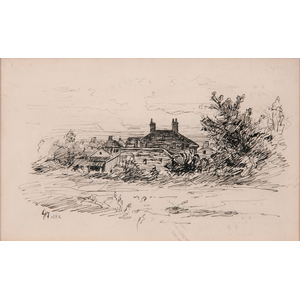 Late 19th-Century Landscape Etching
