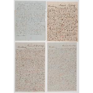 Correspondences to Edward Hill During the Mexican-American War from his Family, 1846-1847