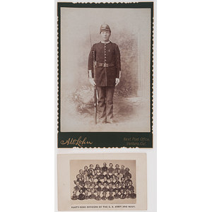 Civil War CDV, Forty-Nine Officers of the C.S. Army and Navy, Plus Cabinet Photo