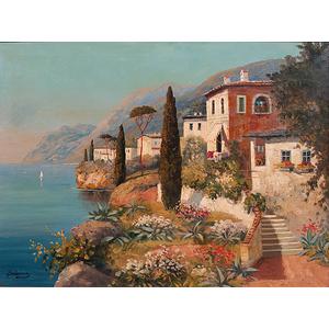 Seaside Villa Landscape