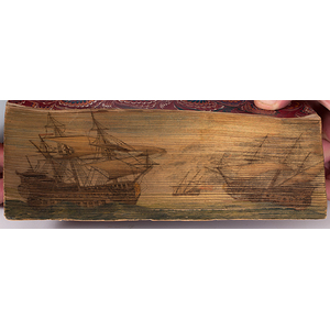 Poetry of Thomas Moore, with Fore-edge Painting