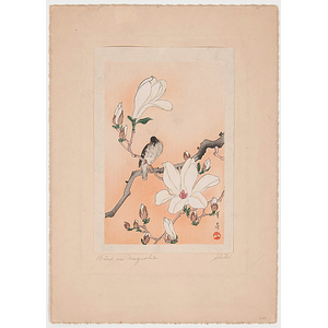 Japanese Woodblock Floral Prints