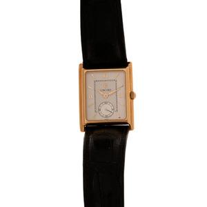 Concord 18 Karat Yellow Gold Tank Watch