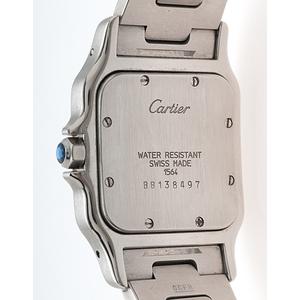 Cartier Santos Galbee 1564 in Stainless Steel