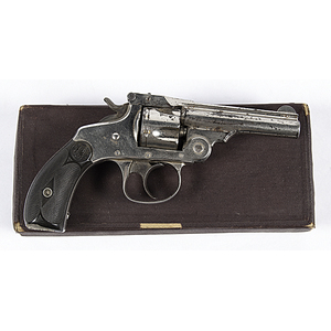 Smith and Wesson Double Action Revolver in Original Box