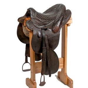 Wilbourn or Buena Vista Saddle ca. 1900