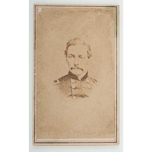 CDV of P.G.T. Beauregard by Hughes & Saltsman, Nashville, TN