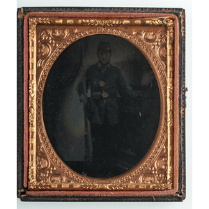 Ambrotypes and Tintypes of Civil War Soldiers, Lot of 4