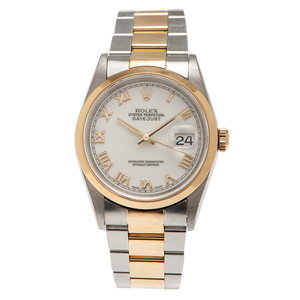 Rolex Oyster Perpetual Datejust in 18 Karat and Stainless