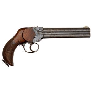 Charles Lancaster Four-Shot Pistol