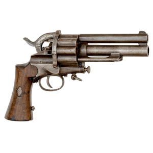 Centerfire Cartridge LeMat Revolver